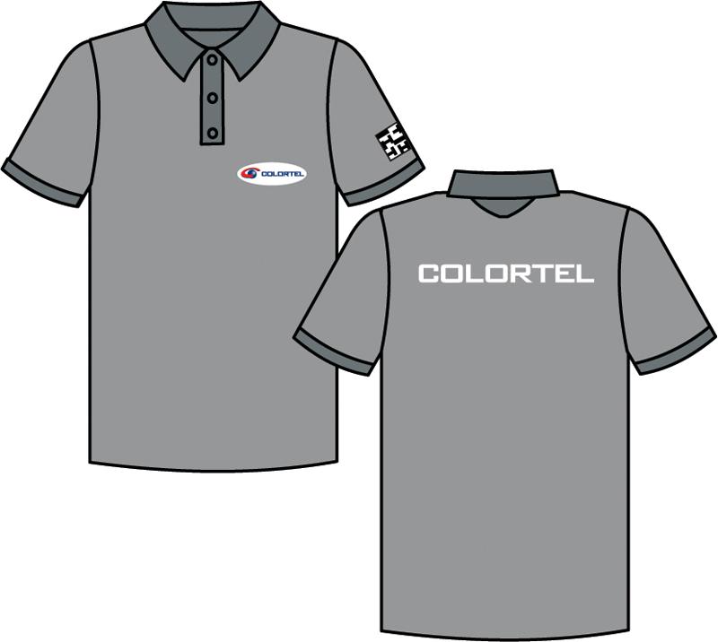 ada5598043 colortel uniformes lm creative design. camisetas personalizadas crie  camisetas